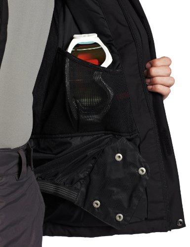 Spyder Men 's Sentinel Jacket Schwarz/Schwarz/Rot