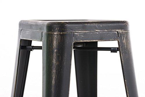 Clp sgabello bar joshua in metallo sgabello design industriale e