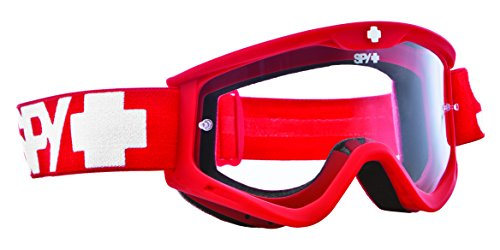 Spy Motocross Goggle MX Targa3, Red dawn - clear af w/post, 320809512097 (Sonnenbrille Rot Spy)
