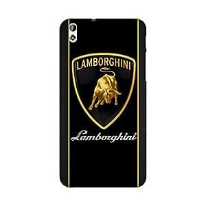 Abhivyakti Car&Bikes Lamborghini Hard Back Case Cover For HTC Desire 816