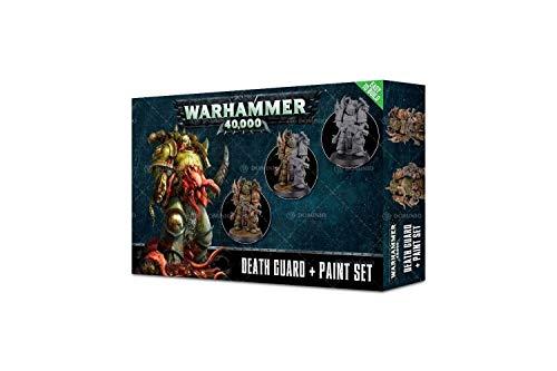 Games Workshop Chaos Space Marines Death Guard + Paint Set Tabletop Fantasy Battles