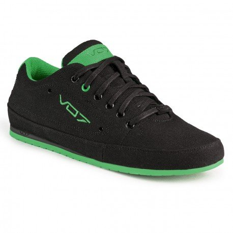 Baskets basses YACHT GREEN par VO7 Noir