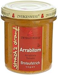 Zwergenwiese Bio Pâte à tartiner Tomates Arrabiata Arrabitom (160 g)