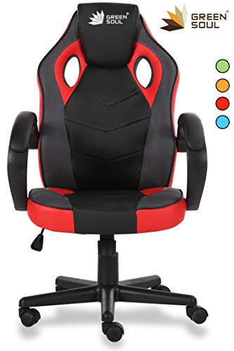 GreenSoul Conqueror Series Gaming/Desk Chair in PVC Leather & Mesh...