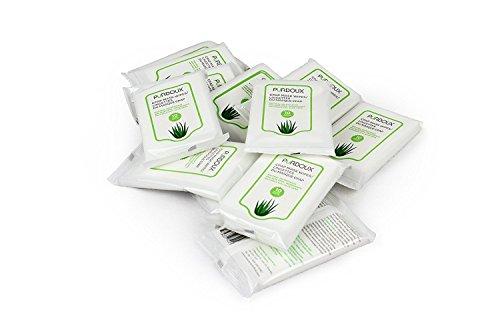 12 Beutel Box (PÜRDOUX CPAP Maske Wipes, Aloe Vera (Box von insgesamt 120 Feuchttüchern in 12 wiederverschließbaren Beuteln, 10 Wischtücher pro Beutel))