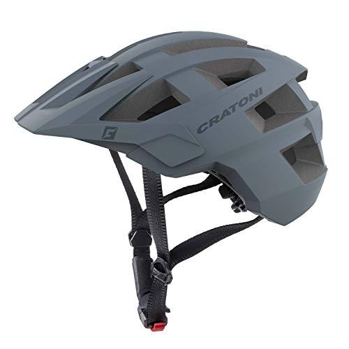 Cratoni Mountainbike Helm AllSet, Grey Matt, Gr. S-M (54-58 cm)
