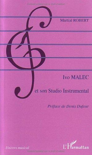 Ivo Malec et son Studio Instrumental
