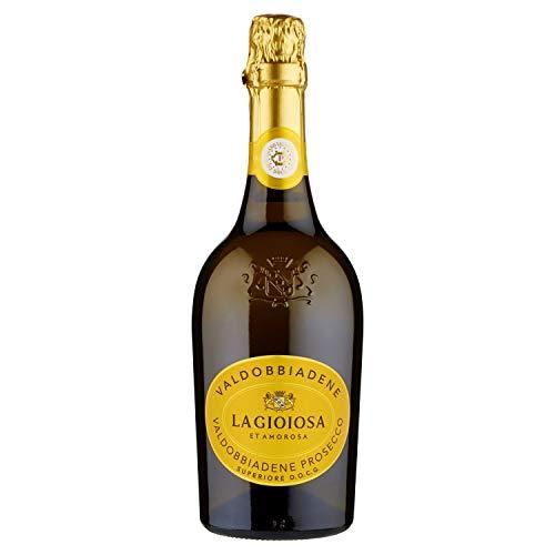La gioiosa vino la gioiosa prosecco valdobbiadene docg extra dry - 6 bottiglie da 750 ml