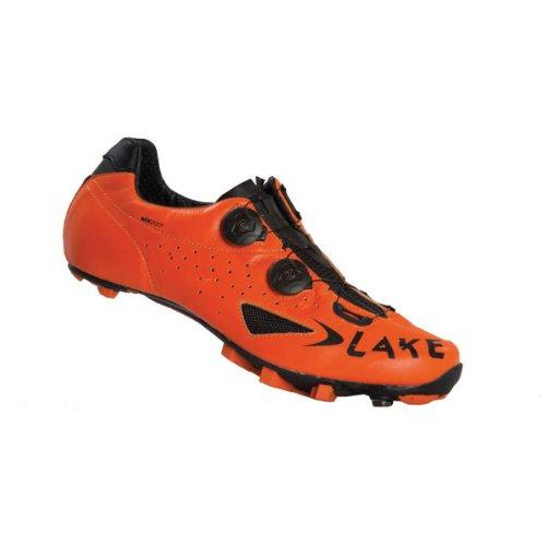 Lake , Chaussures de cyclisme pour homme Orange-Black Orange