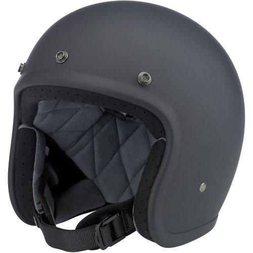 Preisvergleich Produktbild Biltwell Bonanza Helmet - Flat Black (Small) by Biltwell