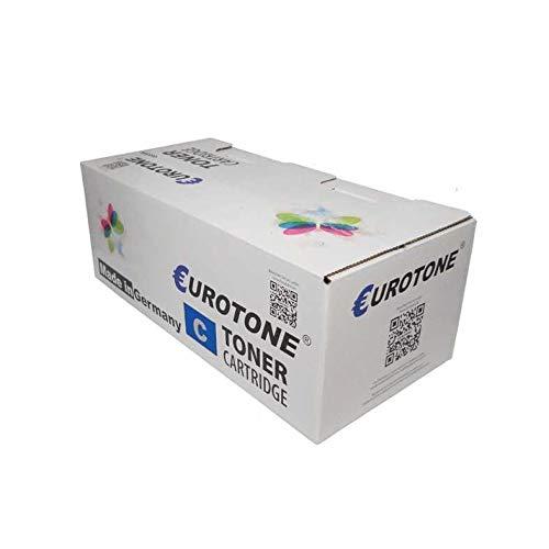1x Eurotone Toner für Oki MC 853 873 wie 45862839 Cyan Blau Cartridge Patrone Kartusche -