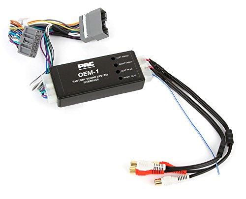 PAC AOEM-CHR3 Vorverstärker-Adapter für Chrysler, Dodge & Jeep (2007-2010) o. Verstärker