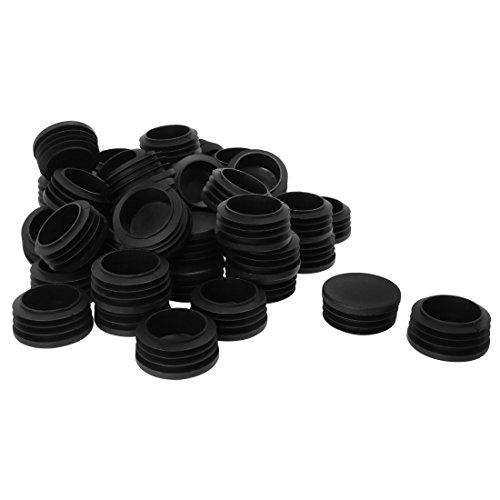 Kunststoff Patio Set (Sourcingmap 15/20,3cm 4cm OD Kunststoff rund Tube legen Glide Gap Pad zusammenrollbar 3,7cm -1.54