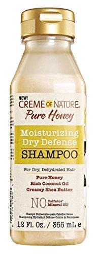 Creme Of Nature Pure Honey Dry Defense Shampoo 12oz.