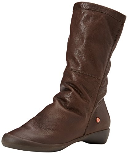SoftinosFola342sof - Stivali donna Marrone (Brown (Dk. Brown))