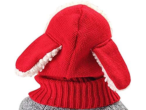 GYwink Cappellino Neonato Berretto a Maglia per Bambini Berretto Caldo per 0 -3 Anni (Blu) cap Confortevole (Colore   Red Red c52a27bd80e2