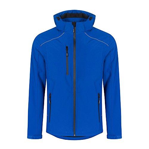 Softshell Jacke Plus Size Herren, XXXL, Königsblau