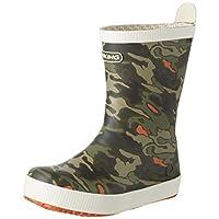 Viking Seilas Jr. Camo, Unisex Kids' Rubber Boots