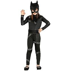 Guirca - Disfraz black kitty, Talla 5-6 años (85737.0)