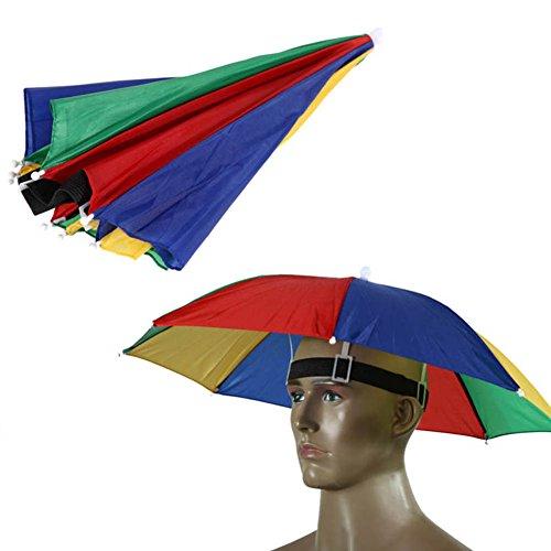 Da.wa cappello per il sole ombrello campeggio trekking festival pesca esterna vivavoce ombrello per cappello di sun