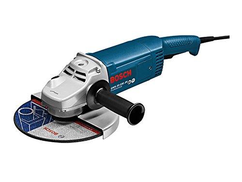 Bosch Professional GWS 20-230 JH - Amoladora en caja, diámetro 230 mm, 2200 W, Negro/Azul/Plata