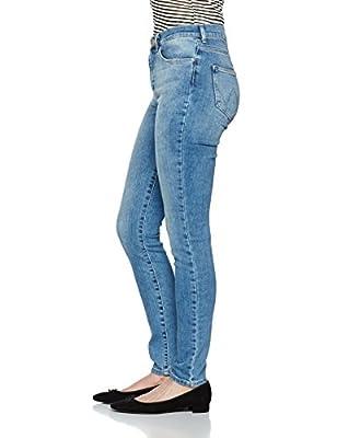 Wrangler Women's High Rise Skinny Best Blue Jeans