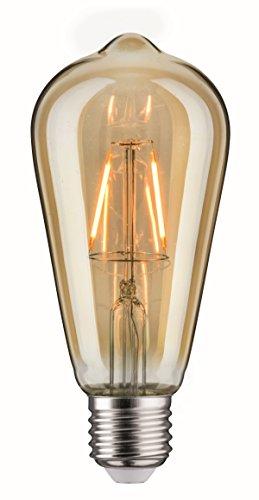 LED Vintage Rustika 2,5W E27 Gold 1700K