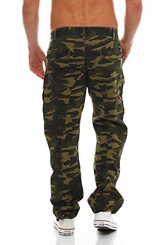 Big Seven -  Pantaloni sportivi  - Uomo Verde