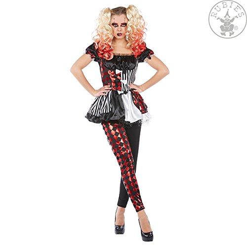 Commedia Dell Arte Kostüme (NEU Damen-Kostüm Harlekin, 2.tlg, Gr.)
