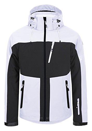 Herren Skijacke / Softshelljacke Icepeak - NILS ( weiß ) Outdoor Funktionsjacke, Gr. M