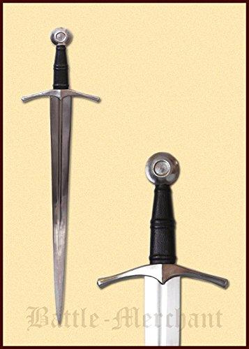 Mittelalterlicher Einhänder Schwert Gesamtlänge 90 cm medieval sword (Mittelalterliches Schwert Aus Kohlenstoffstahl)