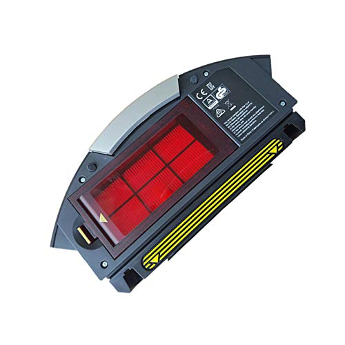 LICHIFIT - Caja de Recogida de Polvo con Filtro Hepa para aspiradora iRobot Roomba 800 900...