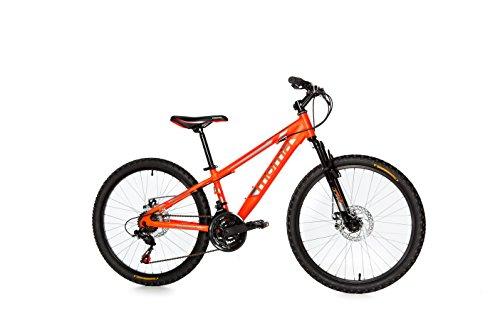 Moma Bikes Bicicletta Mountainbike 24BTT SHIMANO, Alluminio, doppio disco e sospensione
