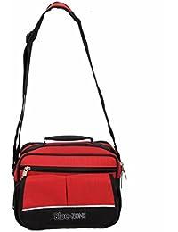 Kuber Industries™ Men's Sling Bag,,Shop Bag,Multi Purpose Bag,Key Bag (5 Pockets) -KI19096