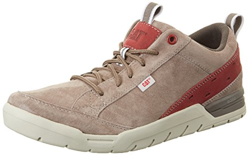 Caterpillar instance, Sneakers Basses Homme Gris (Mens Dark Grey/brick)
