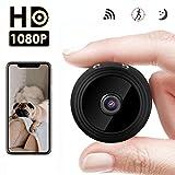 Mini Kamera WiFi Kamera HD 1080P Mini Überwachungskamera Jslai IP Record Kamera 150 Grad Weitwinkel Home Security Überwachungskameras Motion Detection und Nachtsicht für iPhone Android iPad PC