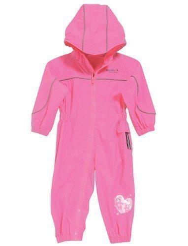 Preisvergleich Produktbild Regatta wasserdichter und leichtgewichtiger Kinder Regenanzug, Lippenstift Pink, Gr.104/110