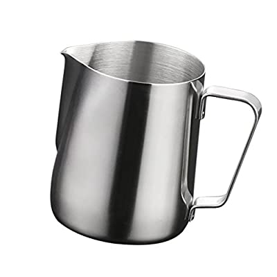 Magideal 350ML Kitchen Stainless Steel Craft Coffee Milk Latte Jug Cup Frothing New