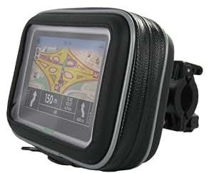 G-Mobility GRGMGPS2R43 Support 2 roues avec étui de protection pour GPS à écran 4.3 pouces