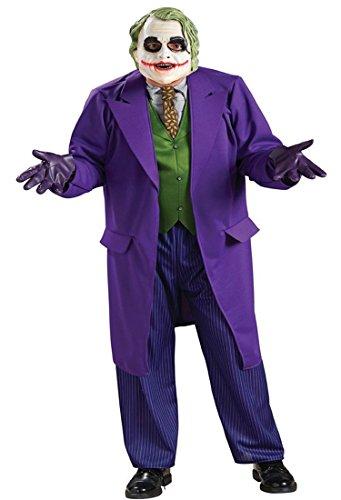 RU Herren Kostüm Batman The Joker Dark Night Gr. XL 56/58 - Verkleidung
