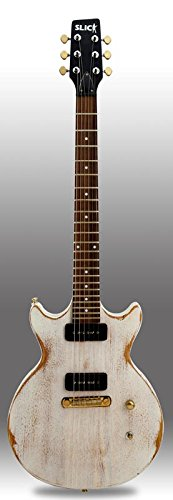 SLICK GUITARS SL60 WHITE DE