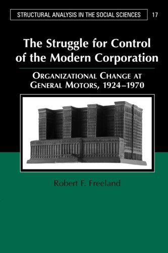the-struggle-for-control-of-the-modern-corporation-organizational-change-at-general-motors-1924-1970