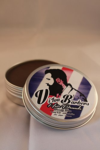 Vi Tva Barbers Pomade WOODY WAX / Zimt-Ingwer-Pinie Duft