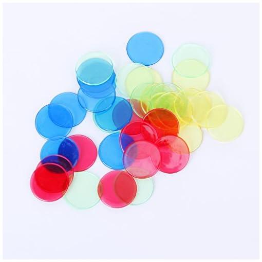 4x-100-4-Bingo-Chips-Marker-fr-Bingo-Spiel-Karten-4-Farben