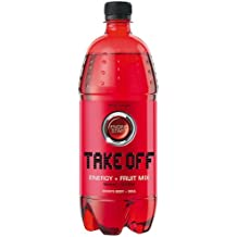 Take Off Energy Drink - Red Fruit - 6 x 1 Liter inkl. Pfand