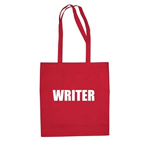 Writer - Stofftasche / Beutel Rot