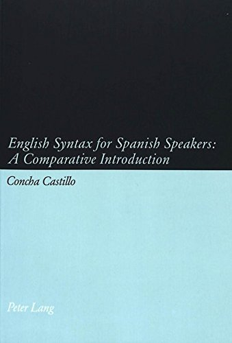 English Syntax for Spanish Speakers: A Comparative Introduction