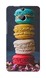 CimaCase Macaroons Designer 3D Printed Case Cover For HTC One M8