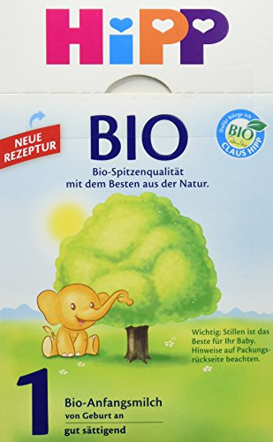 HiPP Milchnahrung 1 Bio, 1er Pack (1 x 600 g)