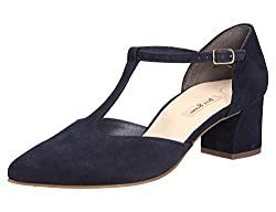 Paul Green 3744 Damen Pumps Blau, EU 40